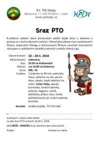 Sraz PTO 18. - 20.5.