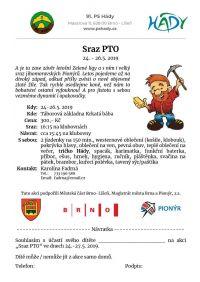 Sraz PTO 24. - 26. 5. 2019